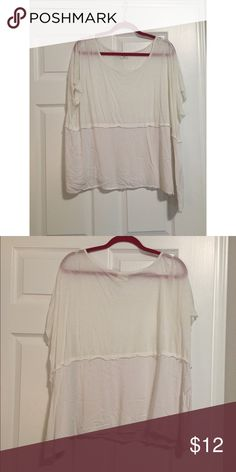 Oversized Top Short sleeve oversized top from Nordstrom. Good condition. Only worn a few times Tops