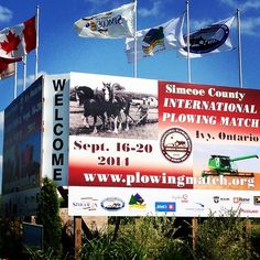Welcome to all our out of town guests who are here for the International Plowing Match this week! Tourism Barrie looks forward to seeing you there...stop by and say hello at our booth! #visitbarrie #InternationalPlowingMatch #getoutandplay #SimcoeCounty #IPM tourismbarrie's photo on Instagram