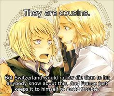 """Hetalia- Austria (Roderich) and Switzerland (Vash) """"Edelweiss"""" from the Sound of Music. Description from pinterest.com. I searched for this on bing.com/images"""