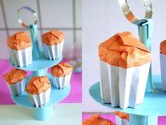 DIY Origami Sushi Rolls - Paper Sushi Rolls. - YouTube