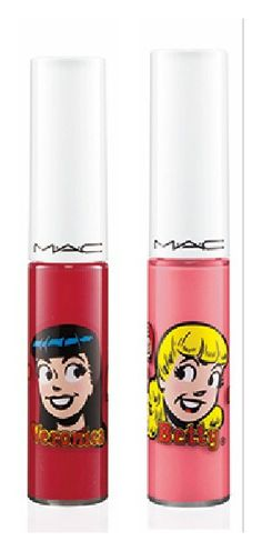 """Betty - who's your pick?"""" Already got strawberry malt! So Veronica xD Betty Who, Betty And Veronica, Beauty First, Make Me Up, Archie, Makeup Yourself, Lip Gloss, Swatch, Beauty Makeup"""