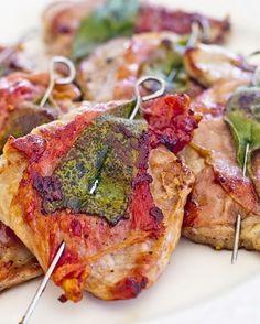 stuttgartcooking: Saltimbocca alla romana oder Kalbsschnitzel mit Salbei und einem Gemüsetopf