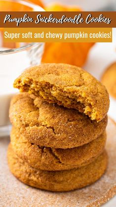 Pumpkin Cookie Recipe, Pumpkin Cookies, Pumpkin Recipes, Pumpkin Spice, Fudge Recipes, Baking Recipes, Cookie Recipes, Thanksgiving Recipes, Fall Recipes