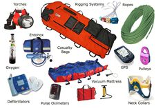 Mountain Rescue Team Equipment