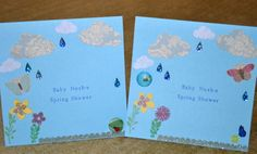 Spring Baby Shower Invitations