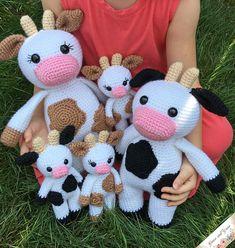 Mesmerizing Crochet an Amigurumi Rabbit Ideas. Lovely Crochet an Amigurumi Rabbit Ideas. Crochet Cow, Bag Crochet, Crochet Gifts, Crochet Yarn, Free Crochet, Free Knitting, Mini Amigurumi, Cow Pattern, Crochet Amigurumi Free Patterns