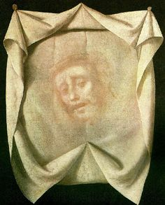 "Francisco de Zurbarán The Veil of Veronica, ca. Nationalmuseum, Stockholm "" ""The apocryphal Gospel of Nicodemus relates how, as Christ was on the Way to Calvary, Veronica came from her house. The Veil, Veil Of Veronica, St Veronica, Caravaggio, Verona, Francisco Zurbaran, Holy Body, Esteban Murillo, Jesus Face"