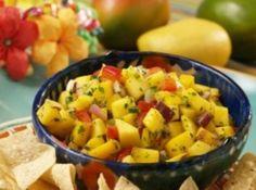 Tropical mango salsa Recipe