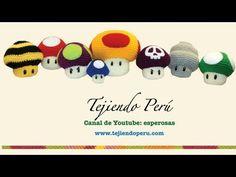How to Crochet a Shell from Super Mario Bros. Amigurumi Doll, Amigurumi Patterns, Crochet Patterns, Filet Crochet, Knit Crochet, Crochet Hats, Amigurumi Tutorial, Easter Crochet, Crochet Videos