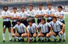 Argentina Campeón del Mundial México 1986. Vence 3 a 2 a Alemania, el 29 de junio de 1986.