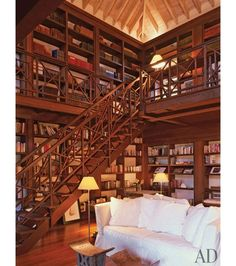 Definitely going to have a library in my home someday. Such a tranquil piece to add to a home.