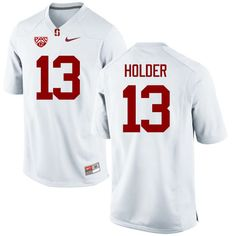 ea978e49c5964a Men Stanford Cardinal  13 Alijah Holder College Football Jerseys Sale-White