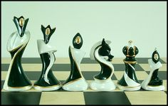 Unique Chess Pieces | Chess Art | Unusual Chess Sets