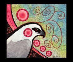 Mississippi Kite as Totem by Ravenari.deviantart.com on @deviantART