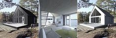 Sunhouse M3 - triptych. Architect: Jarkko Könönen. Home Fashion, Triptych, Homes, Mansions, House Styles, Outdoor Decor, Holiday, Home Decor, Trendy Tree