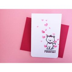 Valentine's Card created by designer Thanh Vo using the Sweet Stamp Shop Dog and Cat stamp set