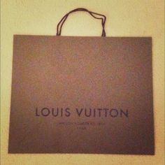 Authentic Louis Vuitton Large Shopper shopping bag 100% Authentic BNW/OT Louis Vuitton Brown Shopper Shopping Bag Tote. JUMBO size, the largest bag. Great to put a gift into, especially when gifting someone with a preloved LV! Perfect affordable accessory to a nice gift! You can also use it as arm candy while out shopping,a decoration,hang it on your wall, hide tv boxes/Wiis in it, put loose papers/mail or as an on the go file cabinet use file separators in it, anything you can think of! Add…