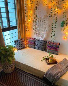 Room Design Bedroom, Home Room Design, Home Decor Bedroom, Home Interior Design, Living Room Decor, India Home Decor, Ethnic Home Decor, Boho Decor, Indian Room Decor