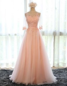 Prom Dresses, Prom Dresses, Pink Prom Dresses, Long Prom Dress, Pink Prom Dress