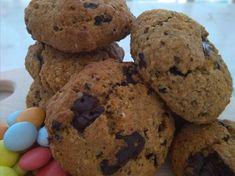 Vegan cookies με κολοκύθα! Cookies, Vegan, Chocolate, Desserts, Food, Crack Crackers, Tailgate Desserts, Deserts, Biscuits