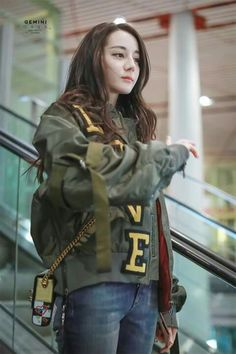 Dilraba Dilmurat /迪麗熱巴 Kpop Outfits, Casual Outfits, Beautiful Asian Girls, Beautiful People, Chinese Actress, Aesthetic Girl, Ulzzang Girl, Woman Crush, Asian Beauty