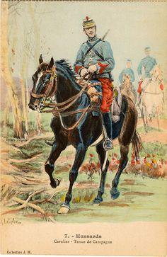 7 Hussards tenue de campagne