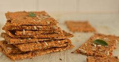 Oil-Free Buckwheat Crackers With Sunflower Seeds - Nutrition Studies Plant-Based Recipes