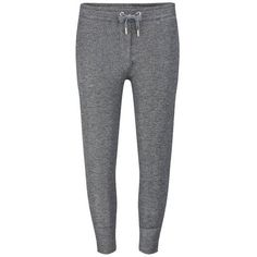 Zoe Karssen Women's Lurex Sweatpants ($96) ❤ liked on Polyvore featuring activewear, activewear pants, pants, bottoms, trousers, sweatpant's, sweats, grey, gray sweat pants and sweat pants