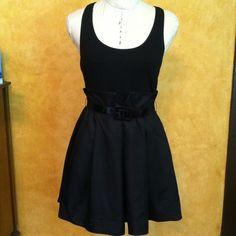"Spotted while shopping on Poshmark: ""Bebe racer back cocktail black dress size small""! #poshmark #fashion #shopping #style #bebe #Dresses"
