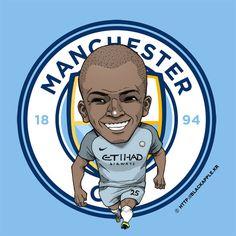 Fan Art, Manchester City, Fifa, Dragon Ball, Soccer, England, Pasta, Football, Seasons