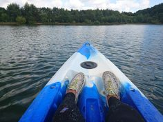 Kayaking at Astbury Mere in Cheshire