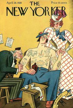 New Yorker Magazine, April 28, 1928