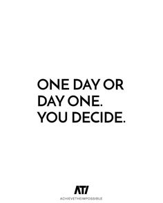 Is today going to just be another day? Or...are you going to choose to make today AMAZING?! Today is the first day of the rest of your life - use these moments to create the future you've been dreaming of! - Pete @peterjbone #achievetheimpossible