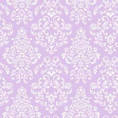 Damask Lilac & White Wallpaper KD1756