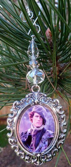 Handmade Jamie Fraser Ornament Book Series Ornament Scottlan #handmade