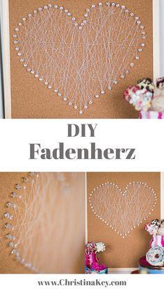 DIY Fadenherz leicht gemacht - Das besondere Geschenk das von Herzen kommt II Jetzt weitere Geschenkideen entdecken!