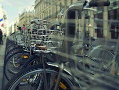Vélib' #Paris #bokeh