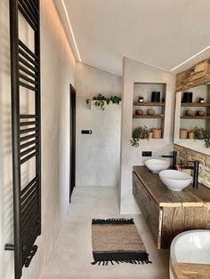 Van tekentafel naar droomhuis - Jellina Detmar Interieur & Styling blog Bad Inspiration, Bathroom Inspiration, Home Decor Inspiration, Bathroom Interior Design, Interior Decorating, Best Bathroom Tiles, Bathroom Goals, Minimal Bathroom, Beautiful Bathrooms