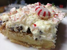 Peppermint White Chocolate Bars #SacFoodies