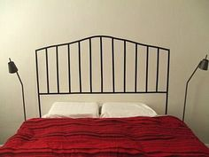 DIY Electrical Tape Headboard