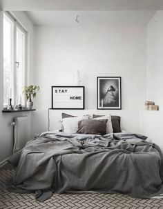cool 50 Mind-Blowing Minimalist Bedroom Color Inspiration https://homedecort.com/2017/06/50-mind-blowing-minimalist-bedroom-color-inspiration/
