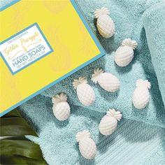 Two's Company Pineapple Soap Set