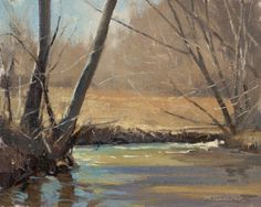 Painting My Way Through Life Mark Hanson   look at how water is done