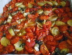 Omáčka z pečených rajčat