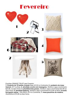 home, shopping list, red, trend, decoration, deco, love, valentine, heart, 2015