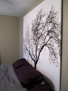 WOW ~ Shower Curtain Headboard