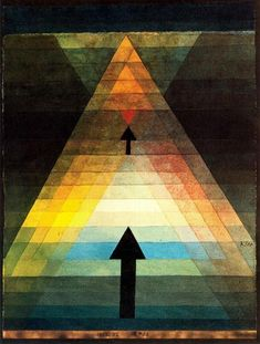 Eros by Paul Klee (1879-1940, Switzerland)