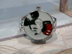 Mickey mouse ring watch