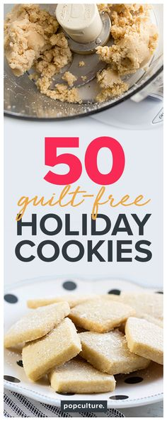 Whether you're baking for a party, cookie swap or your family, these healthy and delicious recipes are guaranteed to put a smile on everyone's face. From gingerbread cookies to dark chocolate-dipped macaroons, we've got you covered with all the cookie recipes you need this holiday season. Popculture.com #holiday #christmascookies #cookierecipe #healthyrecipe #healthycookierecipe #cookieexchange #recipe #healthybaking