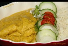 Chicken Korma Curry Nice and Easy - Powered by @ultimaterecipe